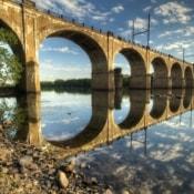 West Trenton Railroad Bridge June 2016- HDR Def & PS Ed & OO Mid Sharp - IMG_9412_3_4_5_6_tonemapped